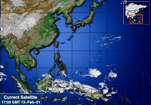 South East Asia IR Image